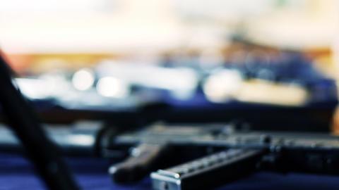 SWAT weapons Stock Video Footage