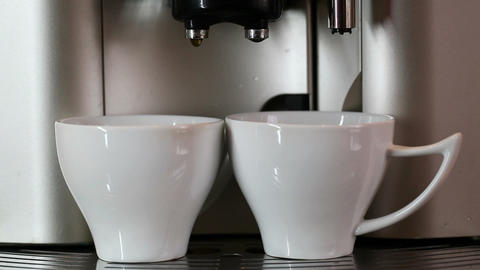 Two cups Stock Video Footage