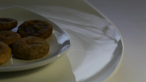 Dried figs Stock Video Footage