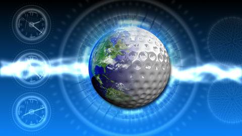 Golf World Background 46 (HD) Stock Video Footage