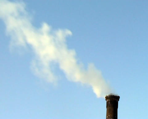 smoke from the chimney Footage