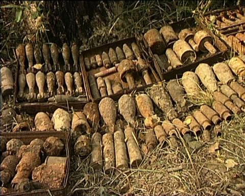 Military Ammunition Footage
