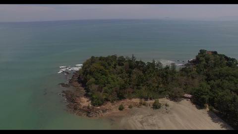 Khokwang beach in Lanta Yai island Footage