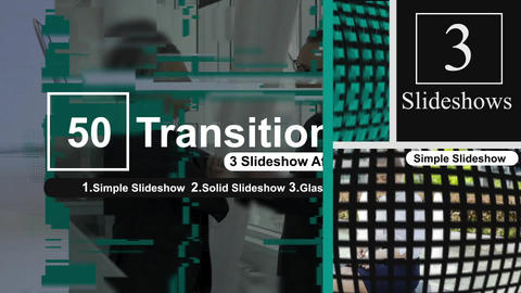 50 Transitions Pack -17 After Effects Template