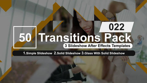 50 Transitions Pack -22 After Effects Template