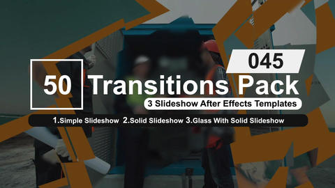 50 Transitions Pack -45 After Effects Template