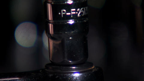 Close up of an adapter put on a socket wrench Footage