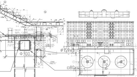 Construction Drawings Joints Schedules Schemes Estimate Background Building Cost Footage