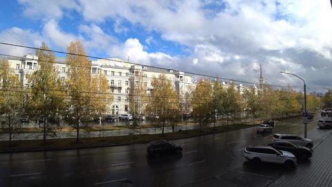 City Street After Rain ビデオ