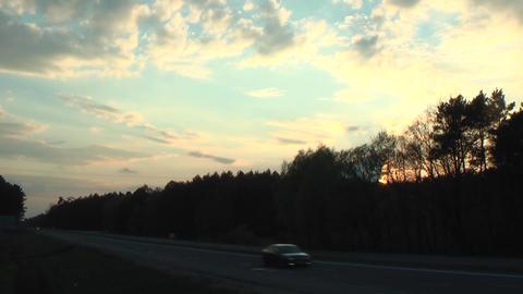 Sunset Over the Highway ビデオ