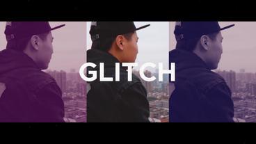 Trendy Glitch Opener Premiere Proテンプレート