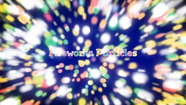 Fireworks Particles Slideshow After Effects Template