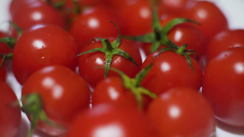 Cherry Tomatoes Stock Video Footage