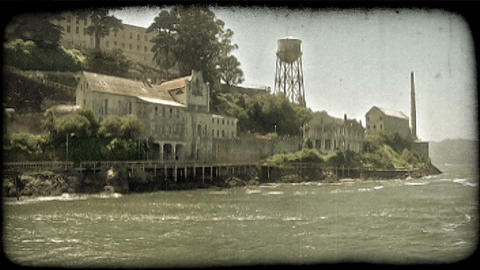 Alcatraz station 2. Vintage stylized video clip Live Action