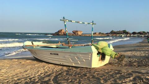 Yalla fishing village Footage