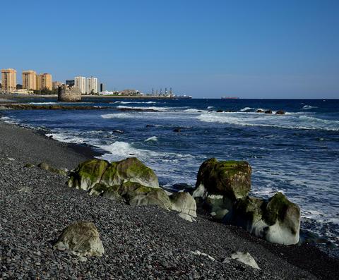 Coast of Las Palmas, Gran Canaria Photo