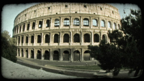 Colosseum 5. Vintage stylized video clip Live Action