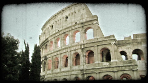 Colosseum 13. Vintage stylized video clip Live Action