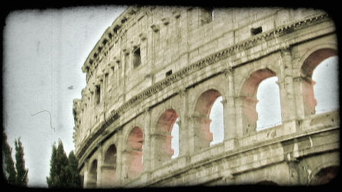 Colosseum 14. Vintage stylized video clip Live Action