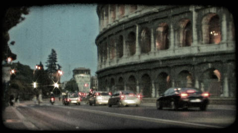 Colosseum 22. Vintage stylized video clip Live Action