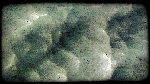 soft water movement. Vintage stylized video clip Footage