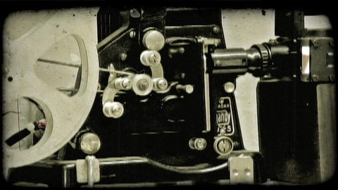 Film Camera 2. Vintage stylized video clip Live Action