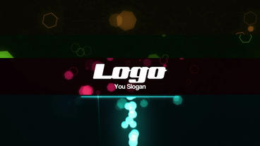 Glow Particles Logo Reveal V2 After Effectsテンプレート