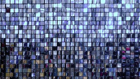 Many shiny blue squares Footage