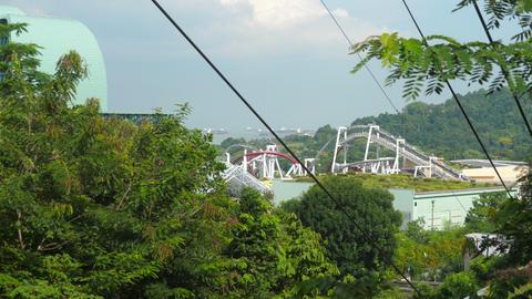 Singapore Sentosa Island Aerial View 영상물