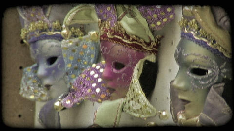 Italian Masks 4. Vintage stylized video clip Live Action