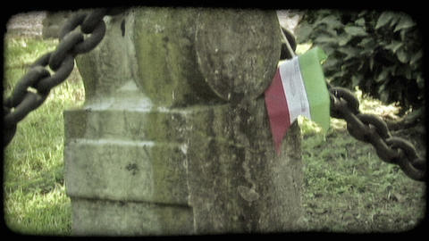 Italian Cemetery 29. Vintage stylized video clip Live Action