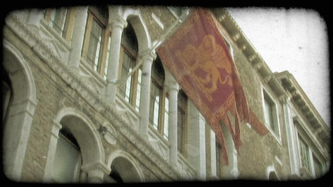 Italian Architecture 5. Vintage stylized video clip Live Action