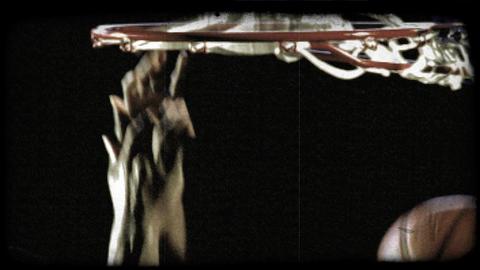 Slam Dunk 4. Vintage stylized video clip Live Action