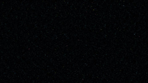 輝く星空 CG動画
