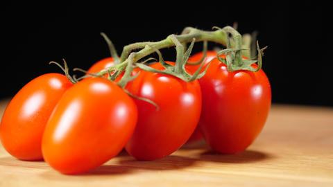 Close up shot of red tomatoes Live Action