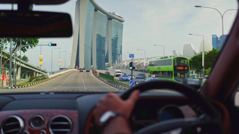 Ride in Luxury car in Singapore Live Action