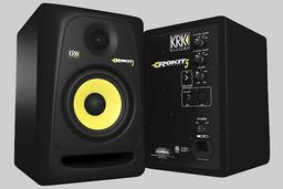 Studio Monitor KRK Rokit 5 3D Model