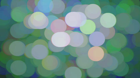 Abstract Bokeh Circles City Lights ビデオ