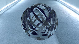 3D Abstract Sphere 3Dモデル