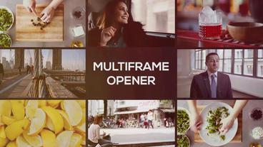 Modern Multiframe Opener Premiere Pro Template