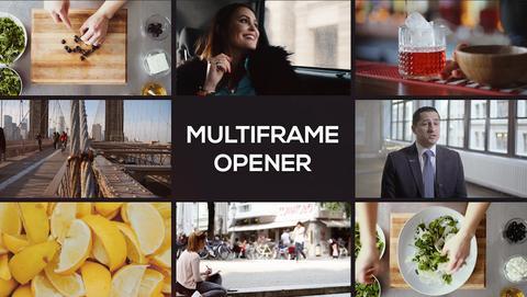 Modern Multiframe Opener Premiere Proテンプレート