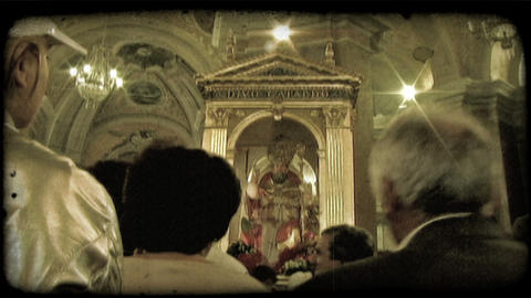 Italian Worship 8. Vintage stylized video clip Live Action
