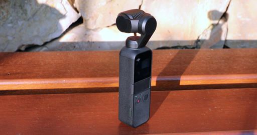 DJI Osmo Pocket Camera Outdoors Live Action