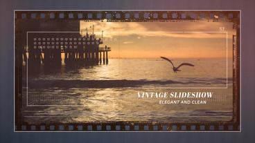 Vintage Frame Slideshow After Effects Template