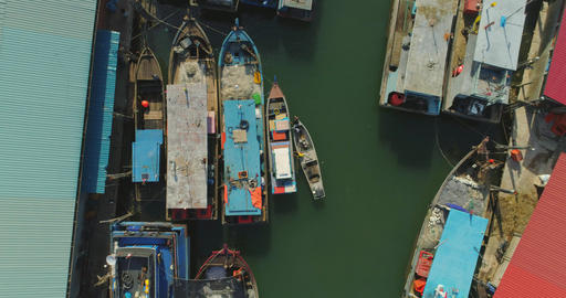 fishing port top view Live Action