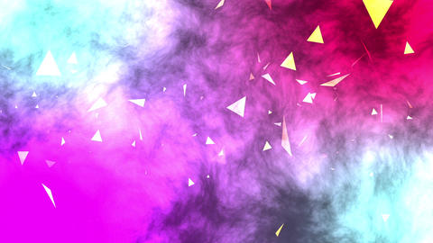 Flying Confetti Background Video Stock Video Footage