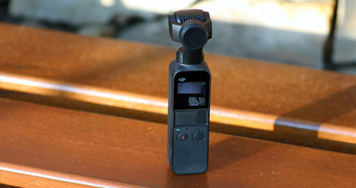Testing DJI Osmo Pocket Camera Outdoors Live Action