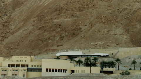 Royalty Free Stock Video Footage of the Masada School shot in Israel at 4k with  Footage