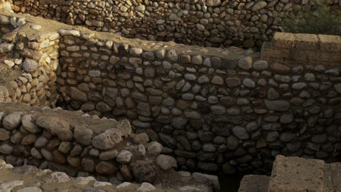 Royalty Free Stock Video Footage of the ancient Tel Be'er Sheva site shot in Isr Live Action