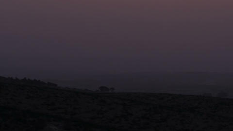 Royalty Free Stock Video Footage of an orange sunset shot in Israel at 4k with R Footage